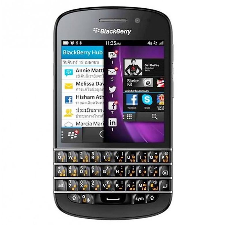 Điện thoại Blackberry Q10 chính hãng bản thái lan - (nobox)