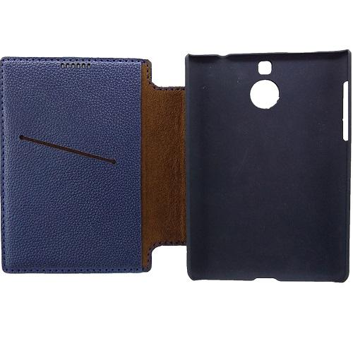 Ốp gập Flip cover Blackberry Passport Silver cao cấp - có ngăn đựng thẻ