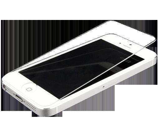 Kính Cường Lực cao cấp Cho iPhone 5/5S (Trong Suốt) - Hàng Nhập Khẩu