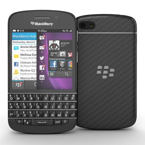 BlackBerry Q10 4G LIKENEW