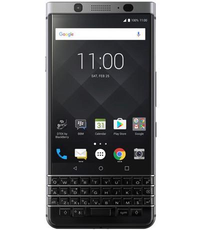 BlackBerry KeyOne silver 99%