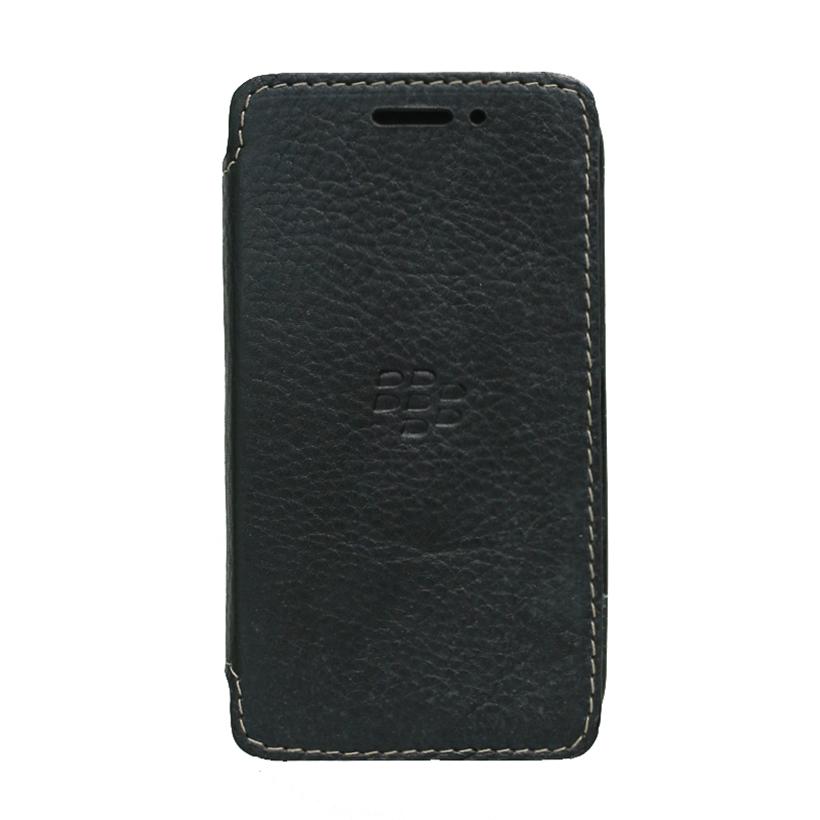 Ốp lưng gập  flip cover cho Blackberry Classic Q20